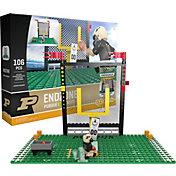 OYO Purdue Boilermakers Team Logo End Zone Minifigure Set