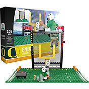 OYO Oregon Ducks Team Logo End Zone Minifigure Set