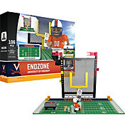 OYO Virginia Cavaliers Team Logo End Zone Minifigure Set