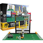 OYO Iowa Hawkeyes Team Logo End Zone Minifigure Set