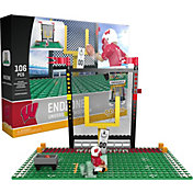 OYO Wisconsin Badgers Team Logo End Zone Minifigure Set