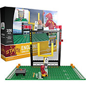 OYO Iowa State Cyclones Team Logo End Zone Minifigure Set