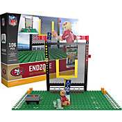 OYO San Francisco 49ers Team Logo End Zone Minifigure Set