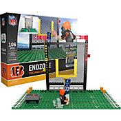 OYO Cincinnati Bengals Team Logo End Zone Minifigure Set