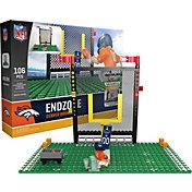 OYO Denver Broncos Team Logo End Zone Minifigure Set