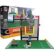 OYO Chicago Bears Team Logo End Zone Minifigure Set