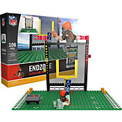 OYO Cleveland Browns Team Logo End Zone Minifigure Set