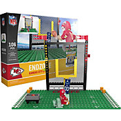 OYO Kansas City Chiefs Team Logo End Zone Minifigure Set