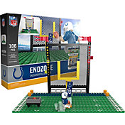OYO Indianapolis Colts Team Logo End Zone Minifigure Set