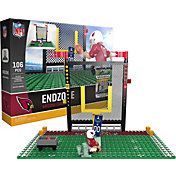OYO Arizona Cardinals Team Logo End Zone Minifigure Set