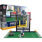 OYO Dallas Cowboys Team Logo End Zone Minifigure Set