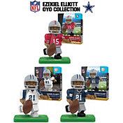 OYO Dallas Cowboys Ezekiel Elliott Minifigure Collector's Set