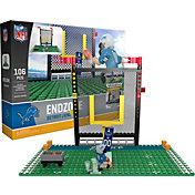 OYO Detroit Lions Team Logo End Zone Minifigure Set