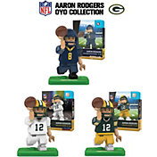 OYO Green Bay Packers Aaron Rodgers Minifigure Collector's Set