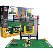 OYO Green Bay Packers Team Logo End Zone Minifigure Set
