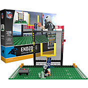 OYO Carolina Panthers Team Logo End Zone Minifigure Set