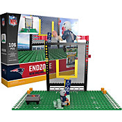 OYO New England Patriots Team Logo End Zone Minifigure Set