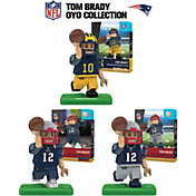 OYO New England Patriots Tom Brady Minifigure Collector's Set