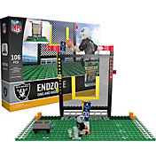 OYO Oakland Raiders Team Logo End Zone Minifigure Set