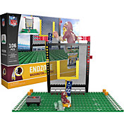 OYO Washington Redskins Team Logo End Zone Minifigure Set