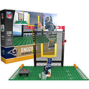 OYO Los Angeles Rams Team Logo End Zone Minifigure Set