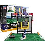 OYO Baltimore Ravens Team Logo End Zone Minifigure Set