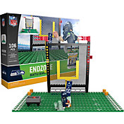 OYO Seattle Seahawks Team Logo End Zone Minifigure Set