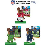 OYO Seattle Seahawks Russell Wilson Minifigure Collector's Set