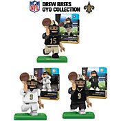 OYO New Orleans Saints Drew Brees Minifigure Collector's Set