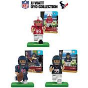 OYO Houston Texans J. J. Watt Minifigure Collector's Set