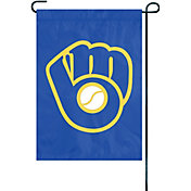 Party Animal Milwaukee Brewers Premium Garden Flag