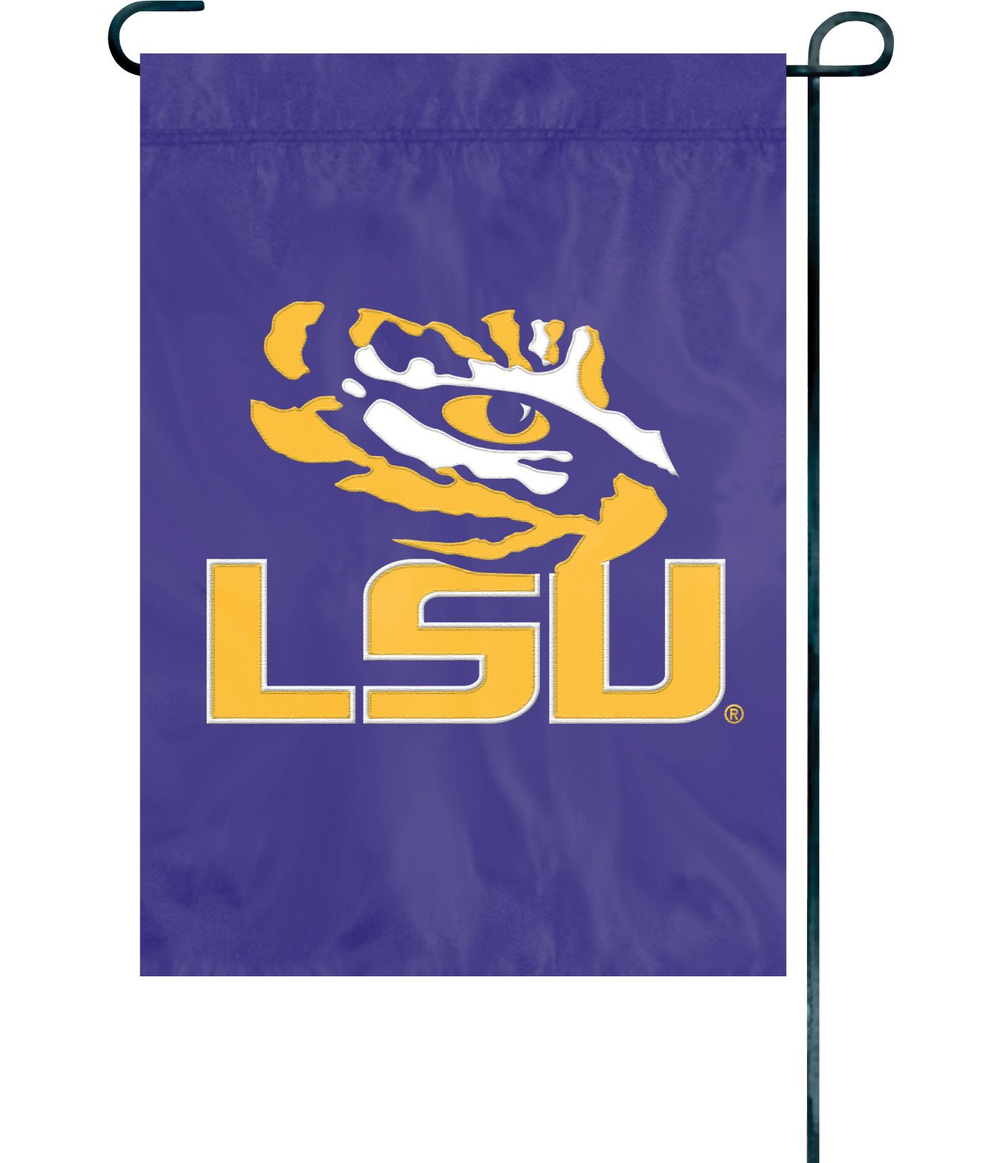 Party Animal LSU Tigers Premium Garden Flag