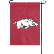 Party Animal Arkansas Razorbacks Premium Garden Flag
