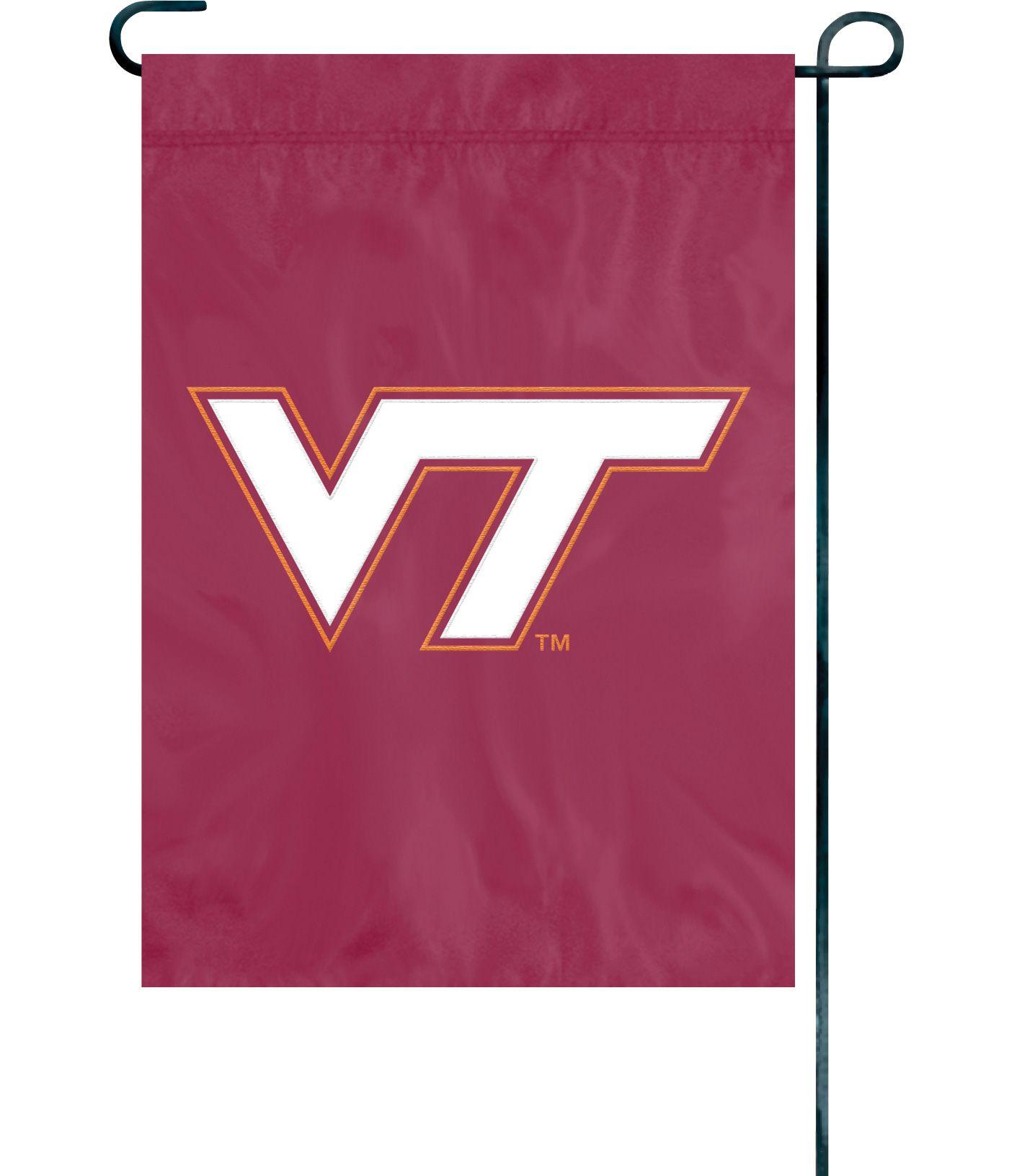Party Animal Virginia Tech Hokies Premium Garden Flag