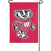 Party Animal Wisconsin Badgers Premium Garden Flag