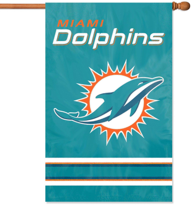 Party Animal Miami Dolphins House Flag