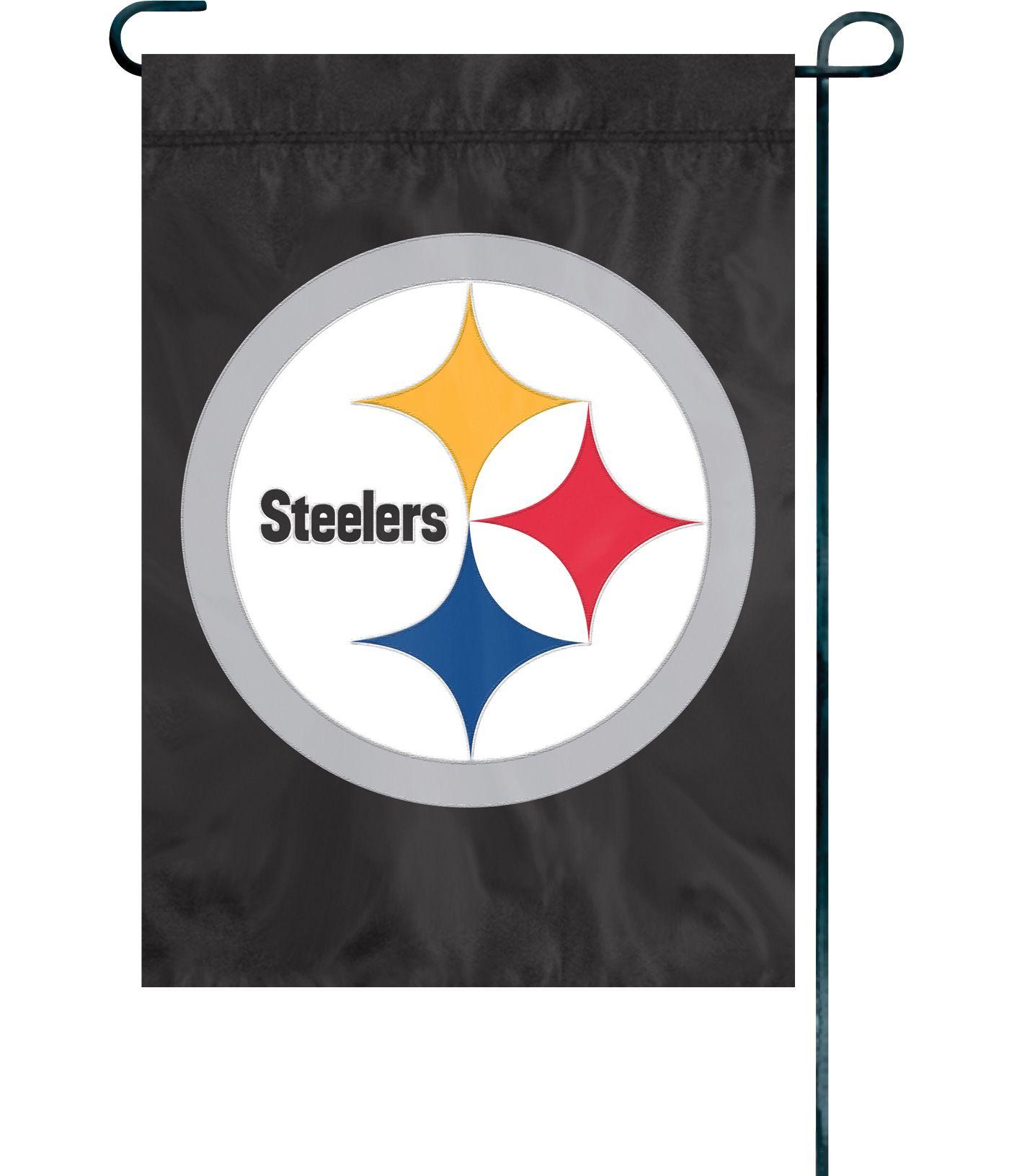 Party Animal Pittsburgh Steelers Premium Garden Flag
