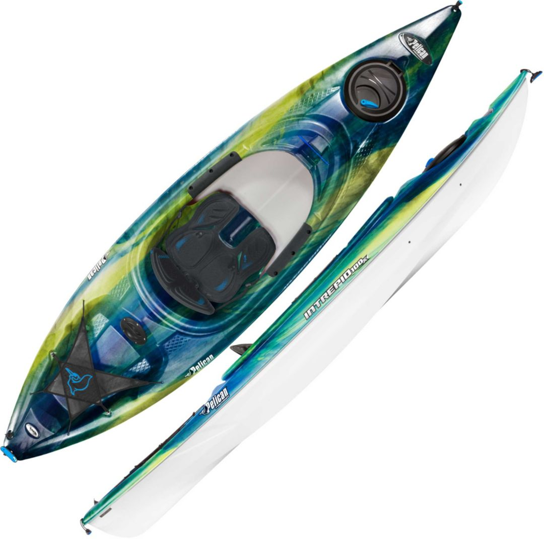Pelican Intrepid 100X Kayak with Paddle