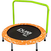 "Pure Fun 36"" Foldable Trampoline with Handrail"