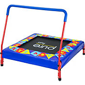 Pure Fun Preschool Jumper Trampoline with Handrail