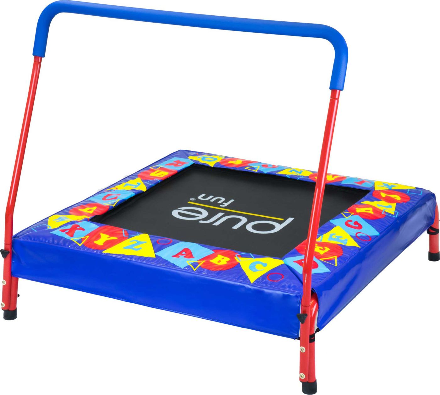 Pure Fun Preschool Jumper Trampoline with Handrail
