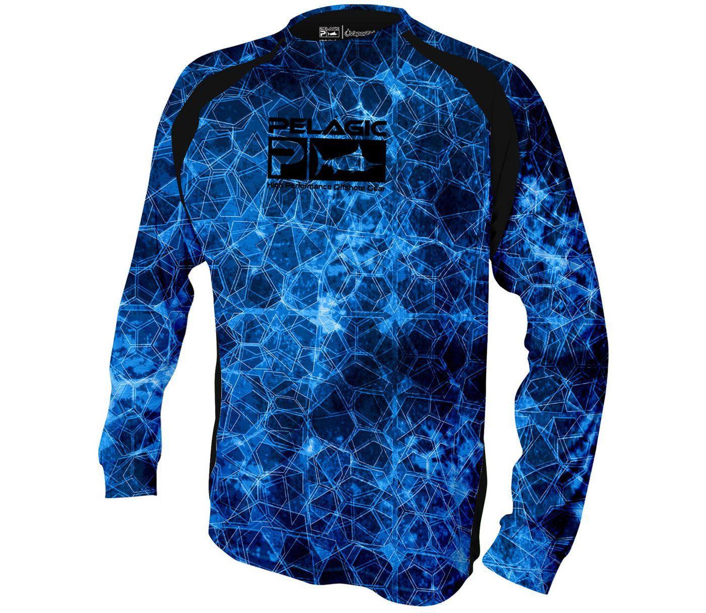 Pelagic Men's VaporTek Long Sleeve Shirt