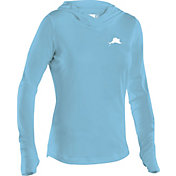 Pelagic Women's UltraTek Hooded Long Sleeve Shirt