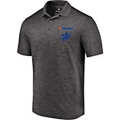 MLS Men's FC Wordmark Crest Heather Grey Polo