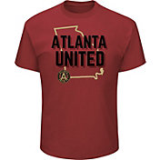 Majestic Men's Atlanta United Win Capital Red T-Shirt