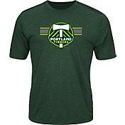 Majestic Men's Portland Timbers Anthem Advanced Green T-Shirt