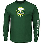 Majestic Men's Portland Timbers Global Green Long Sleeve Shirt