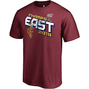 NBA Men's 2018 Eastern Conference Champions Cleveland Cavaliers Burgundy Locker Room T-Shirt