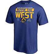 NFL Men's Los Angeles Rams NFC West Division Champions T-Shirt