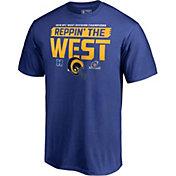 NFL Men's Los Angeles Rams NFC West Division Champions T-Shirt